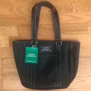 BNWT Mario Badesco Black Handbag